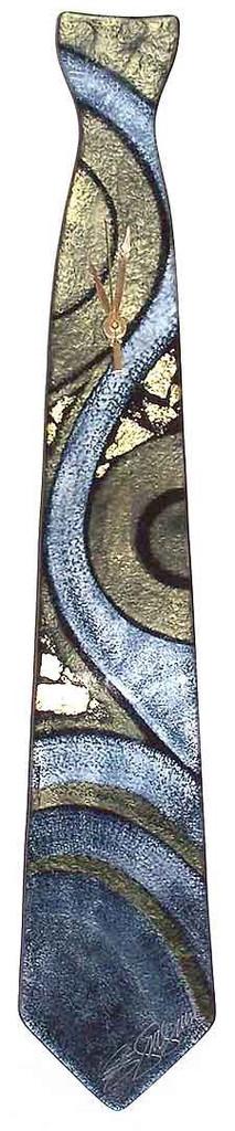 Arciform NeckTie Billet Clock Celestial