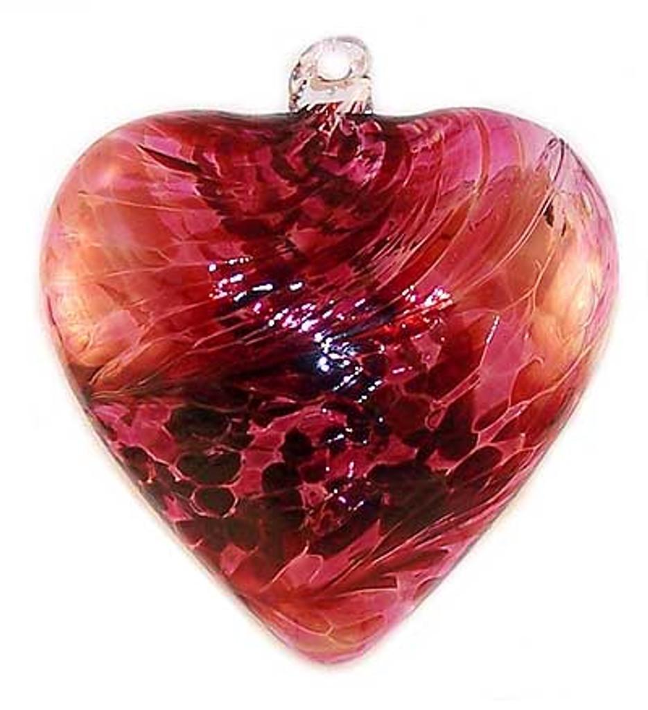 Large Heart Light Red / Dark Red