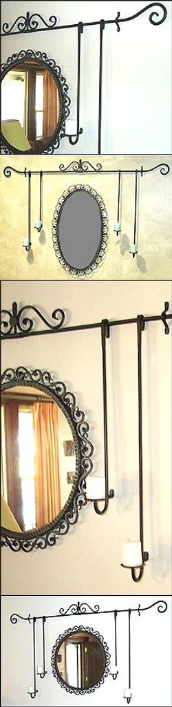 Candle Valance Scroll Style