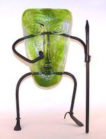 Pygmy Mask Lime Green