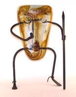 Pygmy Mask Amber