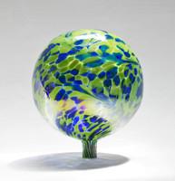 Blue & Green 12 Inch Gazing Ball (Gecko)