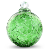 Bright Green Crackle 4 Inch