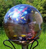 Garden Gazing Ball Circus Amethyst