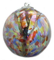 "XL Witch Ball ""Multicolor"" (Iridized)"