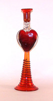 Heart Candlestick Amorous , Pair