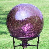 "Garden Gazing Ball ""Violet Blue"""
