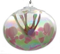 "JuJu Ball ""Raspberry Mint"" Iridized"