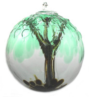 "Embossed Leaf Spirit Tree Spirit Tree ""Cedar Haven"""