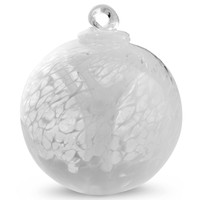 """Veiled Witch Ball """"Snow White"""""""