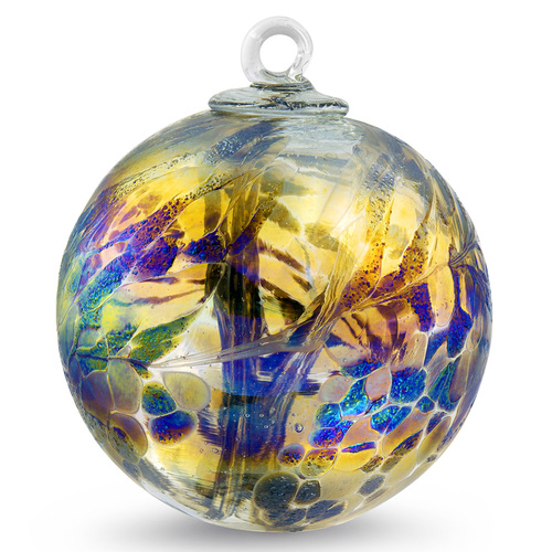 """Small Witch Ball """"Bronz"""""""