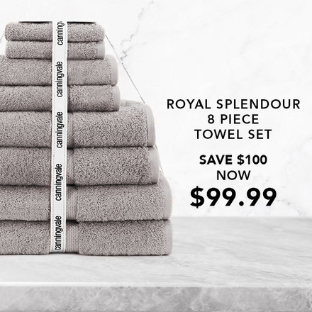 Royal Splendour 8 Piece Set Now $99.99