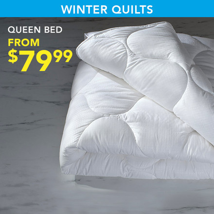 Queen Bed Winter Quilts from $79.99