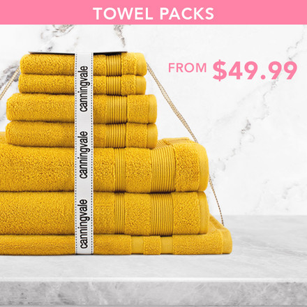 Towel Packs from $49.99