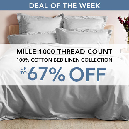 Deal of the week - Mille Bed Linen