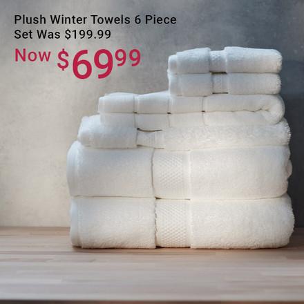Winter Towel Set Now $69.99