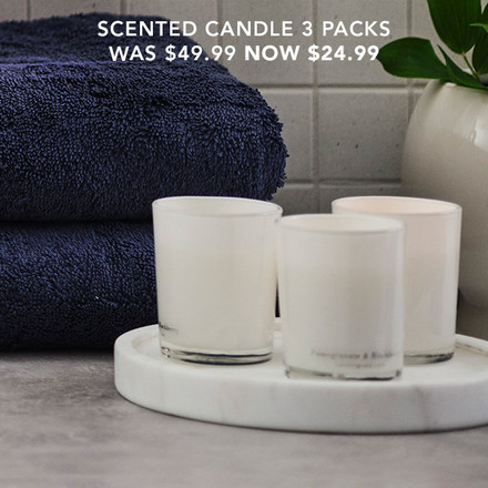 Scented Candles Now $24.99