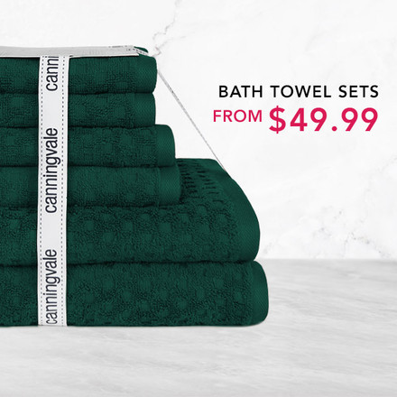 Towel Sets from $49.99