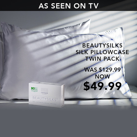 As seen on TV, Beautysilks Pillow Cases
