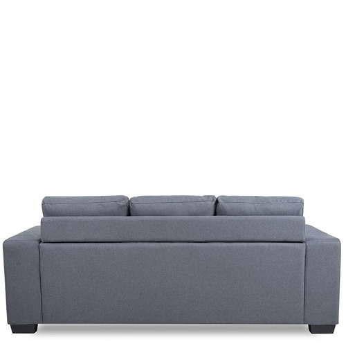 Fine Elegante 3 Seater Sofa Leather Look Sofa Canningvale Ibusinesslaw Wood Chair Design Ideas Ibusinesslaworg