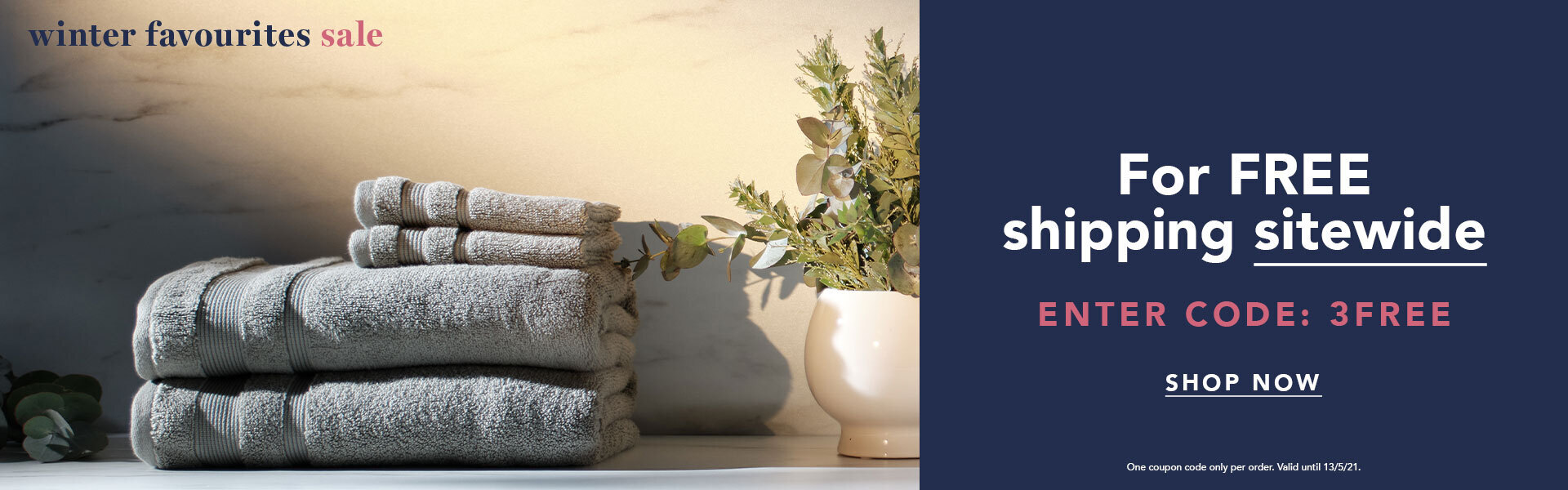End of Summer Sale Homepage Banner