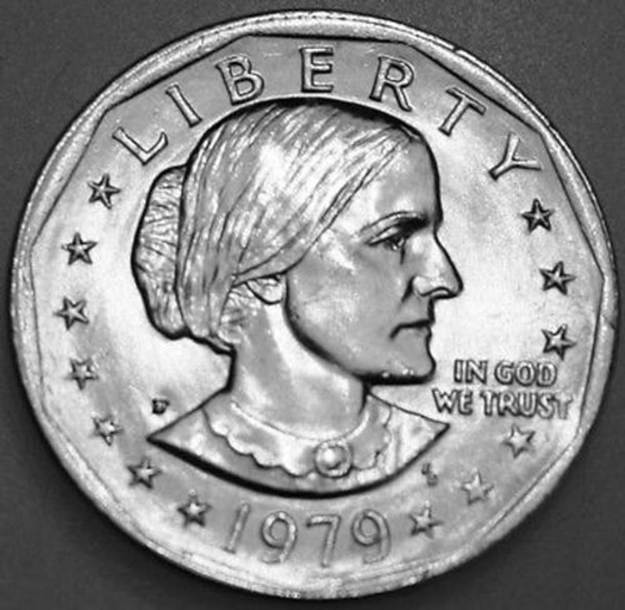 1980-D Susan B Anthony SBA Dollar Uncirculated BU