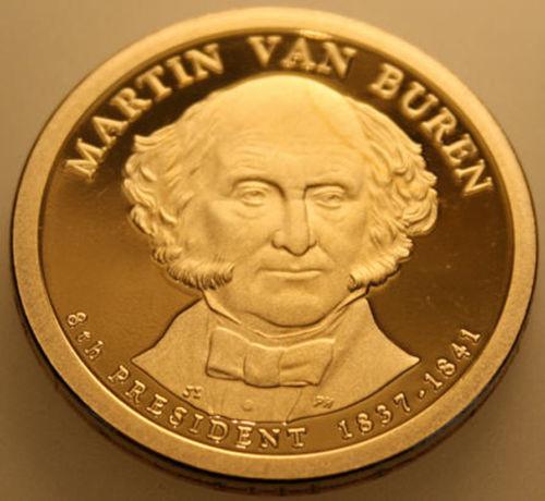2008-S Presidential Dollar Proof Andrew Jackson AJ Golden
