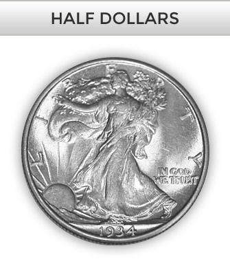 Shop Half Dollars