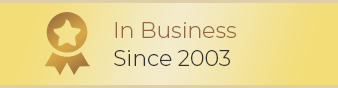 In Business Since 2003