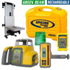 Spectra Precision HV302G-7 Green Beam Laser Interior / Exterior Package with Deluxe HL760U Receiver
