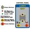 LL300S Laser Conrol Panel UP CLOSE