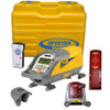 Spectra Precision DG511-7 Pipe Laser comes with P20 Alkaline Pack (Gray), (4) D-Cell Batteries, RC501 remote control, 956 Pipe Target with 2 Targets and 1238 (8-inch) Invert Plate and Carrying Case