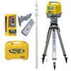 Spectra Precision LL500-12 Long Range Laser Complete Package w/ CR600 - INCHES Rod, Tripod