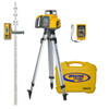 Spectra Precision GL422N-27 Dual Grade Laser Package w/ HL760 Receiver, INCHES-Rod and Tripod