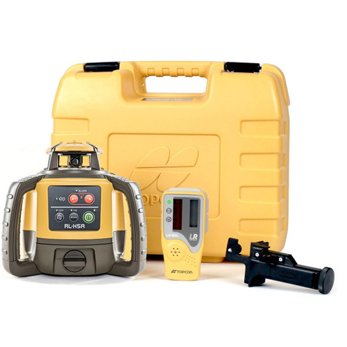 Topcon RL-H5A Self-Leveling Laser PS.DB2 Kit with LS-80L Receiver and Alkaline Batteries- 1021200-15