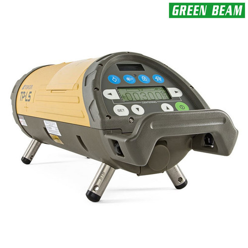 Topcon TP-L5BG Pipe Laser Economy Package - GREEN Beam with LED Plumb 1034437-07