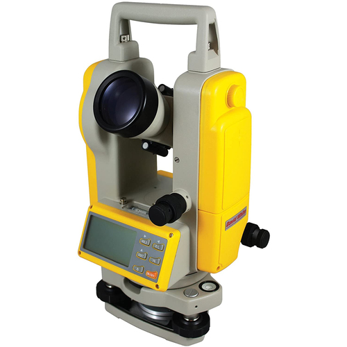 David White DT8-05LS 5-Second Laser Site Digital Theodolite with Optical Plummet 46-D8897