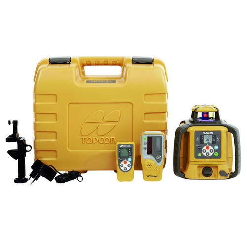 Topcon RL-SV1S Self-Leveling Single Grade Laser RB Kit with LS-80L Receiver and Rechargeable Batteries- 313990709