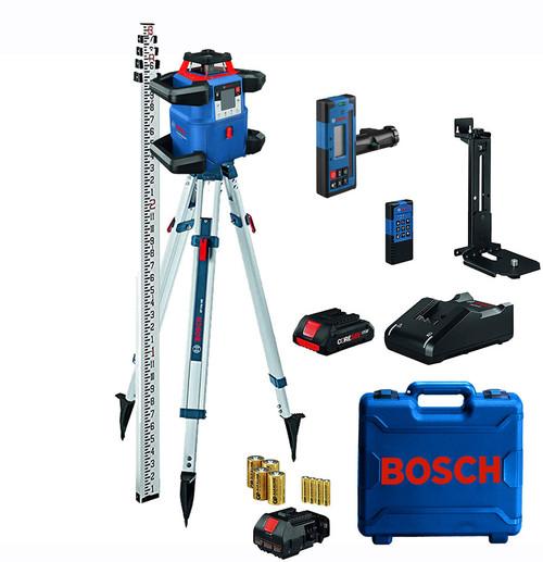 BOSCH GRL4000-80CHVK REVOLVE4000 Dual Grade Self-Leveling Laser Package