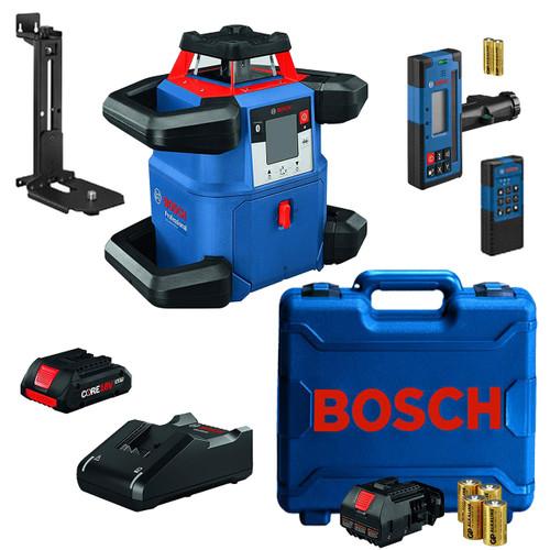 BOSCH GRL4000-80CHV REVOLVE4000 Dual Grade Self-Leveling Laser Kit