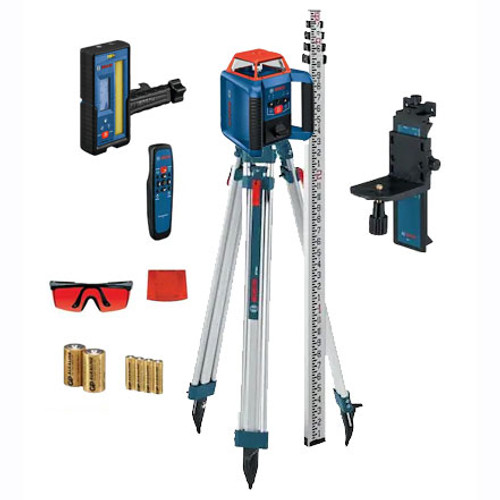 BOSCH GRL2000-40HVK REVOLVE2000 Self-Leveling Horizontal / Vertical Laser Package