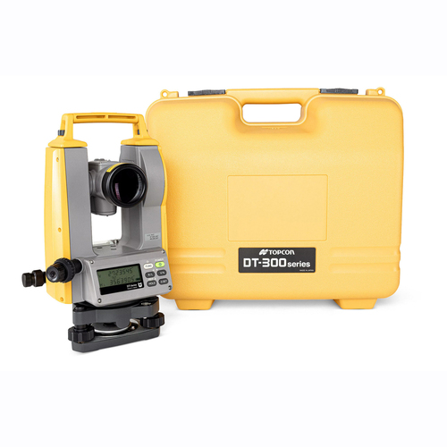 Topcon DT309GL Digital Theodolite Kit with Laser and 9 Second Accuracy - Model 1034419-09