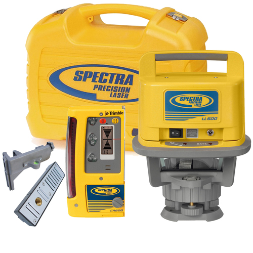 Spectra Precision LL500-10 Long Range Laser Package w/ CR600