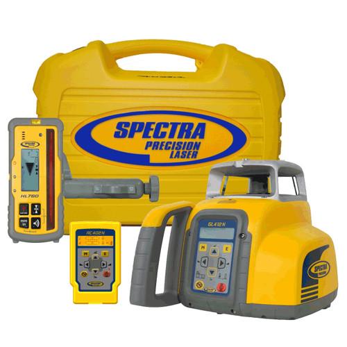 Spectra Precision GL412N Single Grade Laser w/ HL760 Laserometer