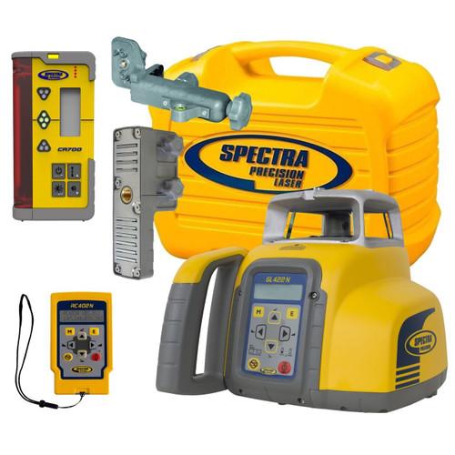 Spectra Precision GL422N-14 Dual Grade Laser w/ CR700 Receiver