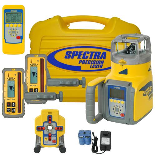 Spectra Precision UL633 Universal Laser with HL750 Laserometer Receiver