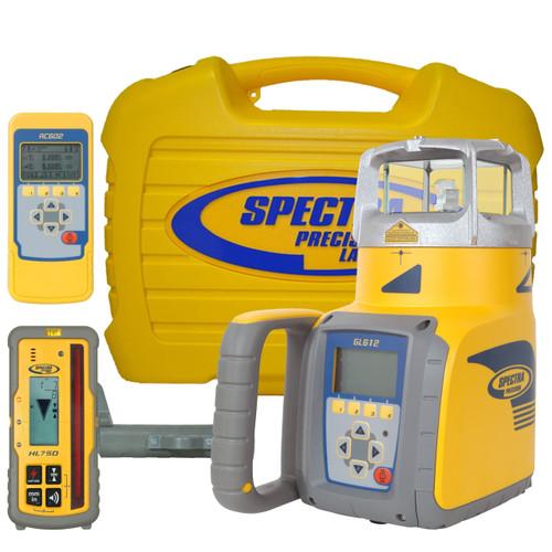 Spectra Precision GL612 Single Grade Laser with HL750 Receiver