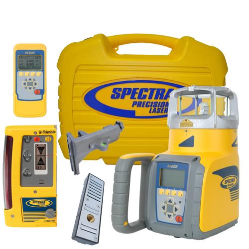 Spectra Precision GL622-14 Dual Grade Laser with CR600 Receiver