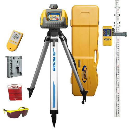 Spectra Precision HV101GC-2 Horizontal / Vertical General Construction Package INCHES