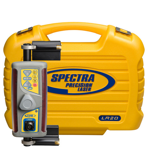Spectra Precision LR20 includes Magnetic Mount MMM and Carying Case